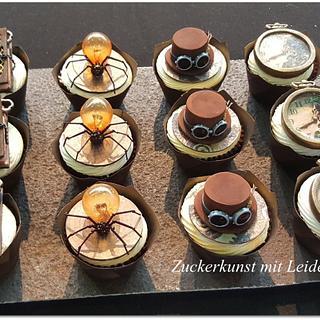 Steampunk Cupcake,  - Cake by  Justyna A-Majewska   JAM