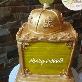 3d Lantarn cake _ fanous cake