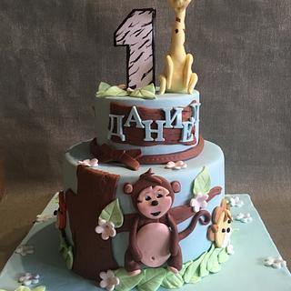 Tremendous First Birthday Cake Boy 12 Cakes Cakesdecor Funny Birthday Cards Online Elaedamsfinfo
