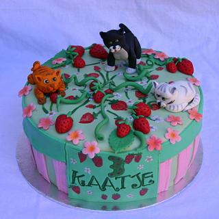 Strawberries and Kittens