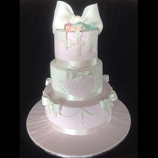 Christning cake