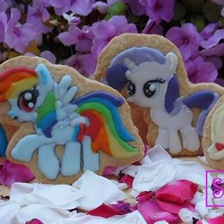 My Little Pony Cookies - Cake by Sweet Baking Babes