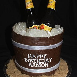 Beer bucket cake - Cake by Jewell Coleman