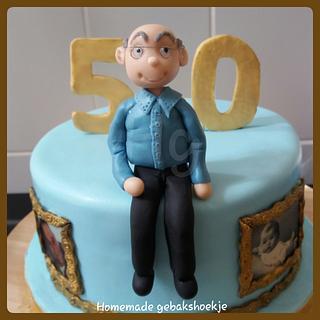 50 year cake