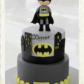 Little Batman Cake