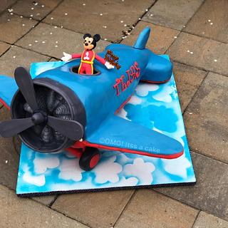 Air Craft cake