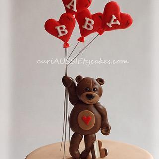 Balloon bear figurine