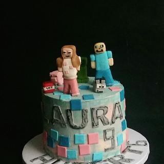 Minecraft  - Cake by Ewa