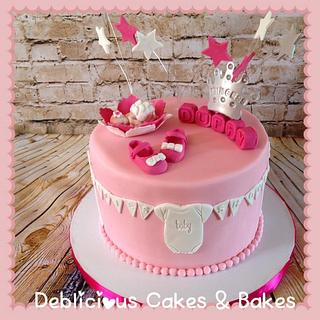Princess Duffy, baby shower cake!