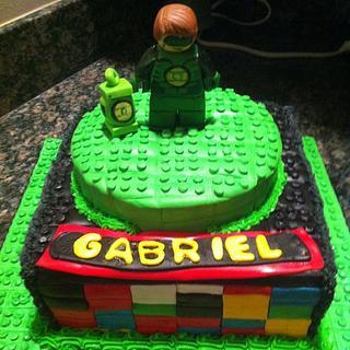 Pleasing Green Lantern Cake 4 Cakes Cakesdecor Funny Birthday Cards Online Amentibdeldamsfinfo
