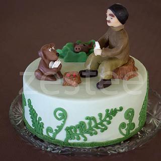 Hunting/Poker Cake