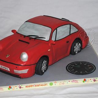 Porsche 911 - Cake by torte trifft stil