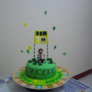 Ben 10  - Cake by kylieskeyk
