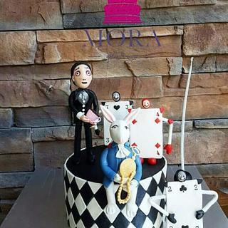 Alice In Wonderland Cake - Cake by Mora Cakes&More