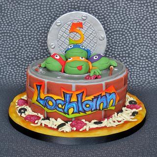 TMNT Cake - Cake by Pam