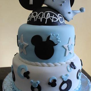 Disney Themed 1st Birthday Cake