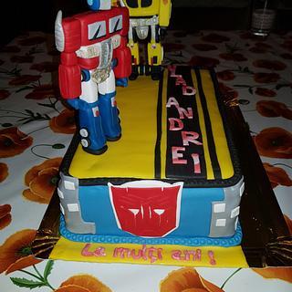 Transformers - Cake by Ramirod