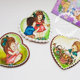 Anna and friends cookie set