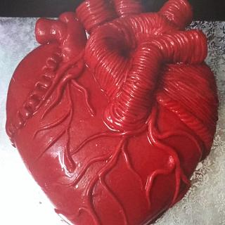 Real Heart Cake