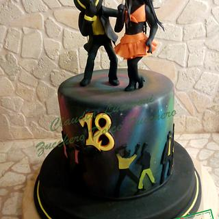 Dancing cake - Cake by Claudia Lucaroni