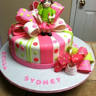 First birthday cake - Cake by Tetyana