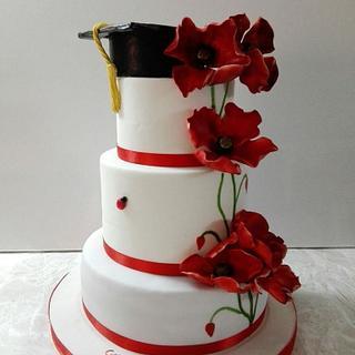 poppies cake!