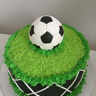 Football cake - Cake by LanaLand