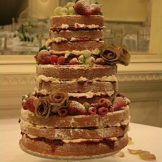 Naked Cake - Cake by Floriana Reynolds