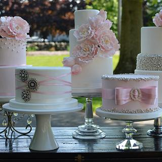 Blush and Silver Wedding