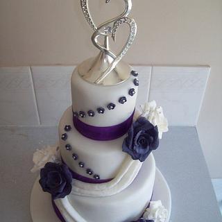 wedding cake - Cake by Amy