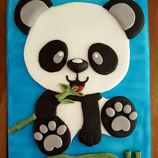 11th Birthday Panda Cake