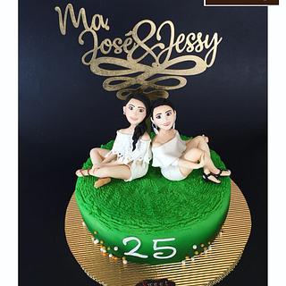 Bff cake - Cake by  Vale Logroño