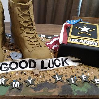 US Army recruit - Cake by Bella Noche Cakes