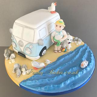Leon's campervan  cake - Cake by Penny Sue