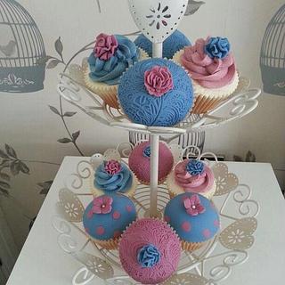Summer love cupcakes
