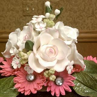 Gumpaste bouquet