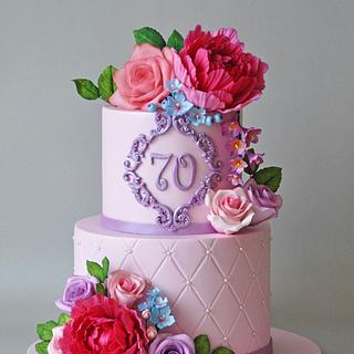 Flowers - Cake by ArchiCAKEture