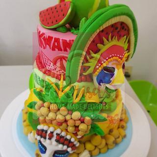 Fruity Festival Cake