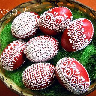 3D Gingerbread Eggs
