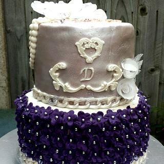 18th bday cake