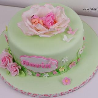 Havin babyshower cake