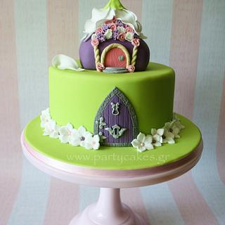 Fairy House Cake - Cake by Cakes By Samantha (Greece)