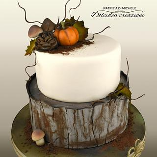 Perfumes from the ground - Cake by Dolcidea creazioni