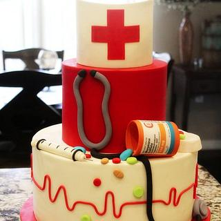 Nurse Lindsay - Cake by Kendra
