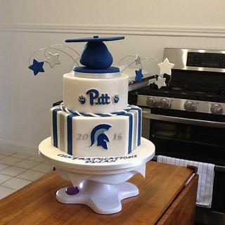 Graduation cake - Cake by Sparetime