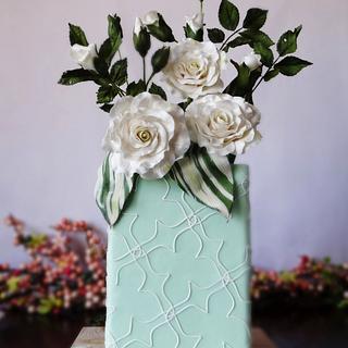 Hybrid Tea Roses - Cake by Cake Heart