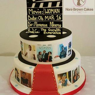 #Hollywood #Movie #Premiere #cake  - Cake by Nora Brown Cakes