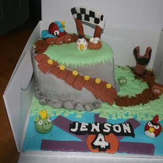 Angry Birds Go!! - Cake by Jodie Taylor