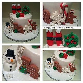 Ho Ho Christmas cake