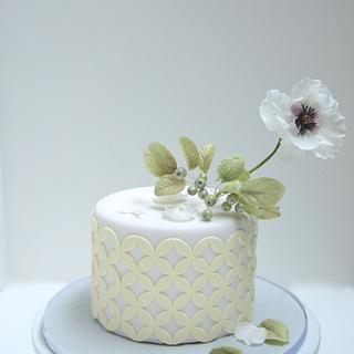 Flower Cake - Cake by Cookie Hound!